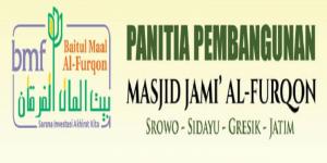 Infak Pembangunan Masjid Jami' Al-Furqon