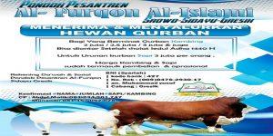 Ponpes Al-Furqon Menerima dan Menyalurkan Hewan Qurban