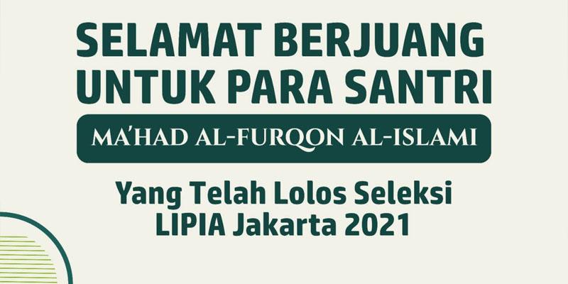 Selamat Untuk Para Alumni Yang telah Diterima di LIPIA Jakarta Tahun 1443H